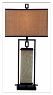 Kenroy Home 30740ORB Plateau 32 Inch Tall Oil Rubbed Bronze Table Top Lamp