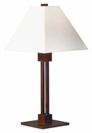 Kenroy Home 31966BRZ Grafton 26 Inch Tall Bronze Finish Transitional Style Table Light