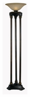 Kenroy Home 32066ORB Colossus Oil Rubbed Bronze Finish 72 Inch Tall Antique Torchiere Floor Lamp