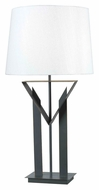 Kenroy Home 32071BRZ Montrose 30 Inch Tall Contemporary Bronze Table Lighting