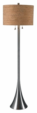 Kenroy Home 32093bs Bulletin 58 Inch Tall Brushed Steel