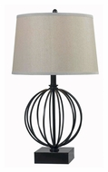 Kenroy Home 32102ORB Globus Oil Rubbed Bronze 26 Inch Tall Lighting Table Lamp