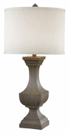 Kenroy Home 32115DW Brookfield 31 Inch Tall Driftwood Living Room Table Lamp