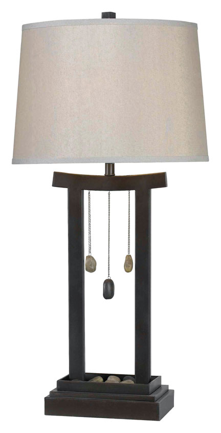 Kenroy Home 32124CBRZ Chimes 31 Inch Tall Copper Bronze Asian Style Table  Lamp. Loading Zoom