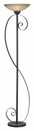 Kenroy Home 32131ORB Galaxy Modern 72 Inch Tall Oil Rubbed Bronze Torch Lamp