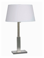 Kenroy Home 32136BS Aegis Transitional Style 27 Inch Tall Table Lamp - Brushed Steel