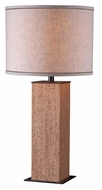 Kenroy Home 32202CK Corkage 29 Inch Tall Natural Cork Table Top Lamp