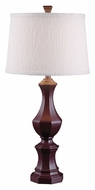 Kenroy Home 32221CHOC Jones Transitional 32 Inch Tall Table Lamp - Chocolate