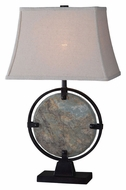 Kenroy Home 32226SL Suspension Natural Slate Bed Lamp - 28 Inches Tall