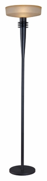 Kenroy Home 32229BRZ Windham 72 Inch Tall Contemporary Torchiere Floor Lamp - Bronze