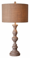 Kenroy Home 32236TA Bennett 30 Inch Tall Table Top Lamp - Toasted Almond