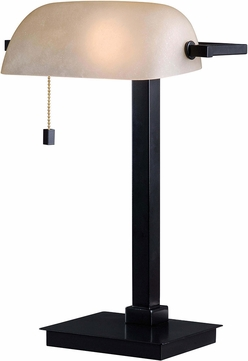 Kenroy Home 32305ORB Wall Street Oil Rubbed Bronze Craft Lamp