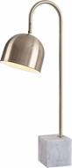 Kenroy Home 32498AB Maverick Contemporary Antique Brass Desk Lamp