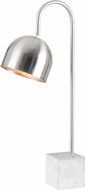 Kenroy Home 32498CH Maverick Contemporary Chrome with White Marble Base Reading Light