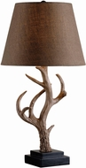 Kenroy Home 32582ANT Buckhorn Rustic Antler Table Light