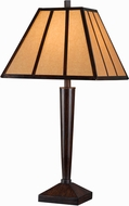 Kenroy Home 32664BRZC Montana Bronze with Copper Highlights Table Lamp