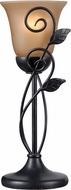 Kenroy Home 32710ORB Arbor Oil Rubbed Bronze Table Top Lamp