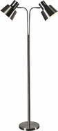 Kenroy Home 32847BS Josephine Modern Brushed Steel Floor Lamp Lighting