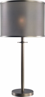 Kenroy Home 32851GRPH Grater Contemporary Graphite Table Light