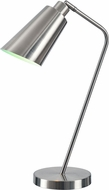 Kenroy Home 32972BS Lynn Modern Brushed Steel Task Lamp