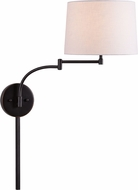 Kenroy Home 33039ORB Seven Oil Rubbed Bronze Wall Swing Arm Lamp