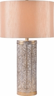 Kenroy Home 34048GLD Ibis White Washed Gold Table Lighting