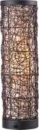 Kenroy Home 35214BRZ Tanglewood Modern Bronze Outdoor Side Table Lamp