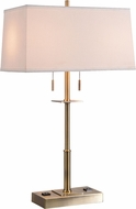 Kenroy Home 35255AB Amina Antique Brass Table Top Lamp