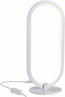 Kenroy Home 35373WH Kobb Contemporary White LED Desk Lamp