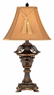 Kenroy Home 36004 Rowan Traditional Metallic Bronze Finish 33 Inch Tall Table Lamp
