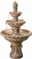 Kenroy Home 51010SNDST Ibiza Traditional Sandstone LED Exterior Floor Fountain