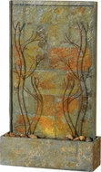 Kenroy Home 51015SLCOP Trailing Vines Contemporary Slate and Copper Floor Fountain