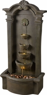 Kenroy Home 51021MS Cathedral Contemporary Moss Stone Floor Fountain