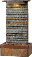 Kenroy Home 51023SLCOP Stave Modern Slate and Copper Tabletop Fountain