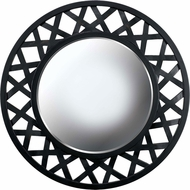 Kenroy Home 60052 Heltor Modern Black and Antique Gold Wall Mirror