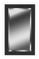 Kenroy Home 60095 Black Ice 40 Inch Tall Transitional Rectangular Wall Mounted Mirror