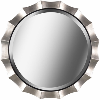 Kenroy Home 60220 Chorale Antique Silver Mirror