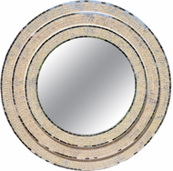 Kenroy Home 60280 Centrico Mixed Glass Mosaic Wall Mirror