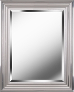 Kenroy Home 60320 Lyonesse Chrome Wall Mirror