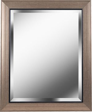 Kenroy Home 60355 Ellory Champagne and Black 39 Wall Mirror