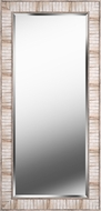 Kenroy Home 60376LTWDG Estaba Contemporary Natural Wood Wall Mirror