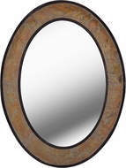 Kenroy Home 60380 Bolton Modern Natural Slate and Copper Wall Mirror