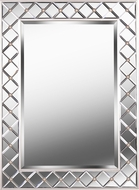 Kenroy Home 60428 Quill Champagne Wall Mounted Mirror