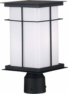 Kenroy Home 70003TB Mesa Mission Textured Black Post Lantern