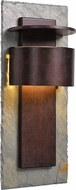 Kenroy Home 70287SL-LED Pembrook Contemporary Natural Slate with Copper LED / Dark Sky Outdoor 30  Lamp Sconce