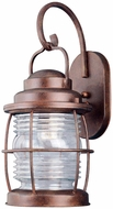 Kenroy Home 90953GC Beacon Nautical Gilded Copper Exterior Wall Sconce Lighting