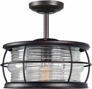 Kenroy Home 90954GC Beacon Nautical Gilded Copper Outdoor Ceiling Lighting