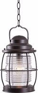 Kenroy Home 90955GC Beacon Traditional Blackened Gilded Copper Hanging Lantern