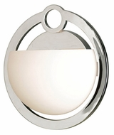 Kenroy Home 91551CH Nova Contemporary Halogen Wall Sconce