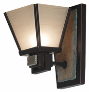 Kenroy Home 91601ORB Clean Slate Mission Wall Sconce